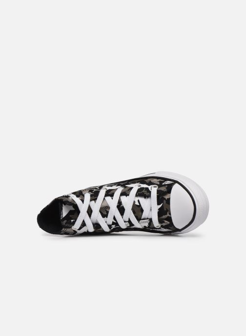 Trainers Converse Chuck Taylor All Star Shark Bite Hi Black view from the left