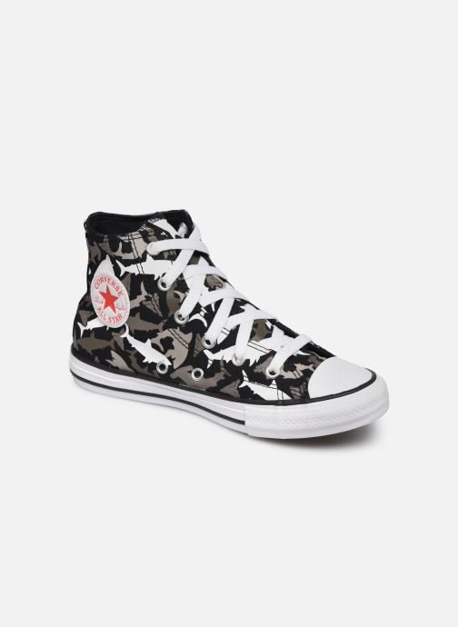 Trainers Converse Chuck Taylor All Star Shark Bite Hi Black detailed view/ Pair view