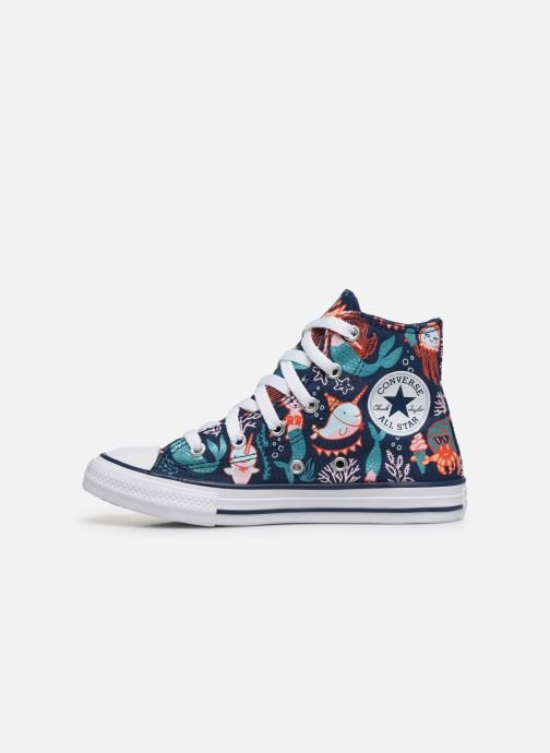 Sneakers Converse Chuck Taylor All Star Underwater Party Hi Blå se forfra