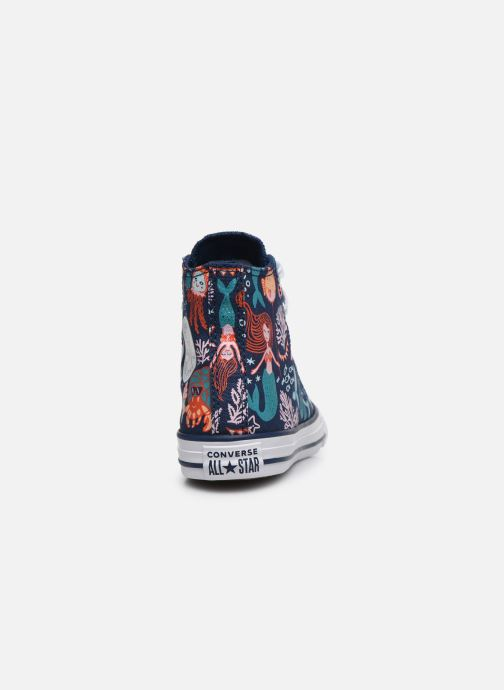 Trainers Converse Chuck Taylor All Star Underwater Party Hi Blue view from the right