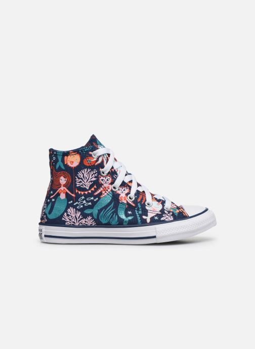Sneakers Converse Chuck Taylor All Star Underwater Party Hi Blå se bagfra