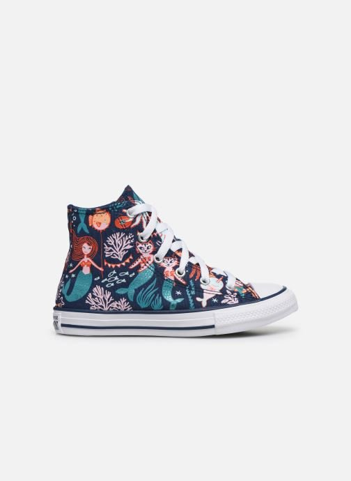 Trainers Converse Chuck Taylor All Star Underwater Party Hi Blue back view