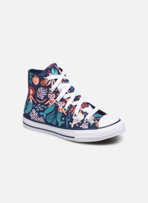 Sneakers Converse Chuck Taylor All Star Underwater Party Hi Blå detaljeret billede af skoene