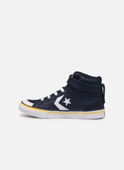 Sneakers Converse Pro Blaze Strap Twisted Leather Hi J Blå se forfra