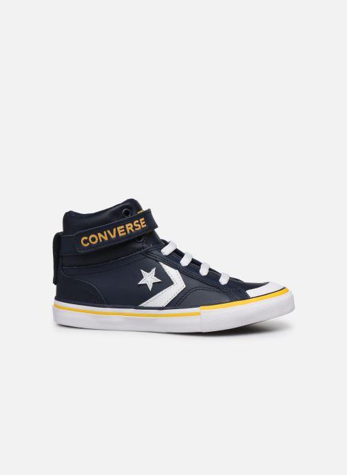 Sneakers Converse Pro Blaze Strap Twisted Leather Hi J Blå se bagfra
