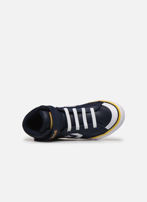 Sneakers Converse Pro Blaze Strap Twisted Leather Hi J Blå se fra venstre