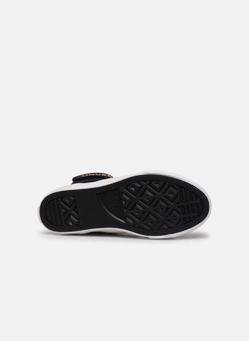 Sneakers Converse Pro Blaze Strap Twisted Leather Hi J Blå se foroven