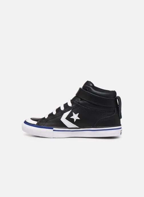 Baskets Converse Pro Blaze Strap Twisted Leather Hi J Noir vue face