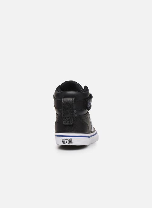 Baskets Converse Pro Blaze Strap Twisted Leather Hi J Noir vue droite