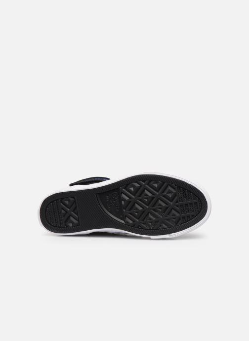 Baskets Converse Pro Blaze Strap Twisted Leather Hi J Noir vue haut