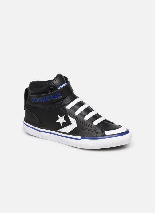 Baskets Converse Pro Blaze Strap Twisted Leather Hi J Noir vue détail/paire