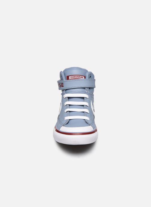 Converse Pro Blaze Strap Hi (Gris) Baskets chez Sarenza