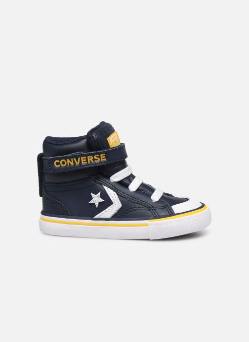 Trainers Converse Pro Blaze Strap Twisted Leather Hi E Blue back view