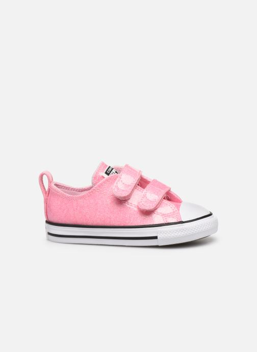 Trainers Converse Chuck Taylor All Star 2V Coated Glitter Ox Pink back view