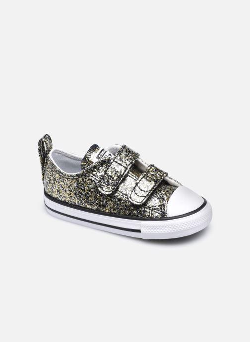 Sneaker Converse Chuck Taylor All Star 2V Coated Glitter Ox gold/bronze detaillierte ansicht/modell