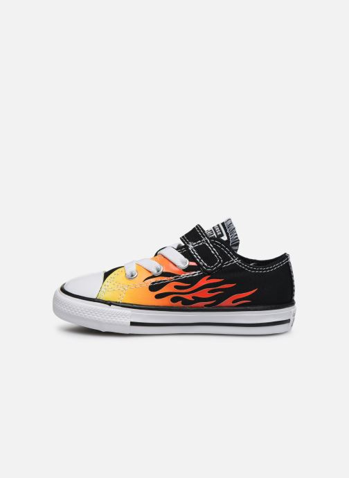 Sneakers Converse Chuck Taylor All Star 1V Archive Flames Ox Sort se forfra