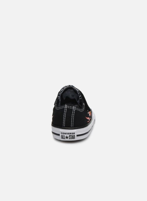Sneakers Converse Chuck Taylor All Star 1V Archive Flames Ox Sort Se fra højre