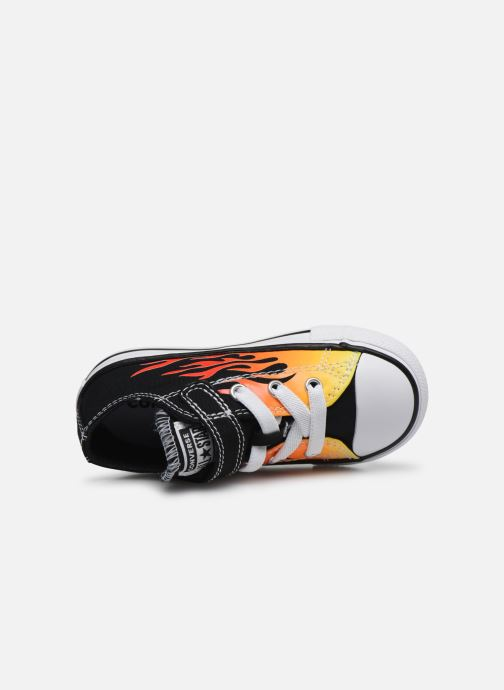 Sneakers Converse Chuck Taylor All Star 1V Archive Flames Ox Sort se fra venstre