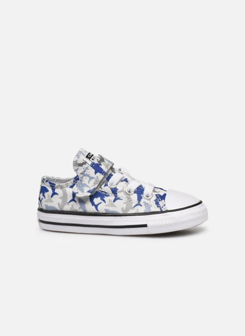 Sneakers Converse Chuck Taylor All Star 1V Shark Bite Ox Wit achterkant