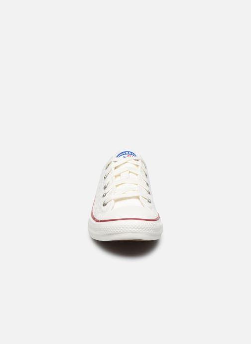 Baskets Converse Chuck Taylor All Star Little Miss Chuck Ox Blanc vue portées chaussures