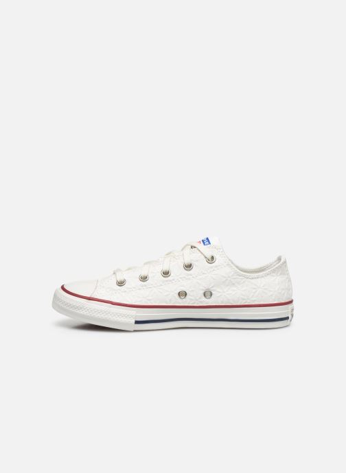 Sneakers Converse Chuck Taylor All Star Little Miss Chuck Ox Hvid se forfra