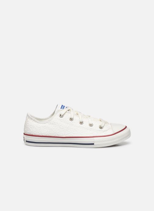 Sneakers Converse Chuck Taylor All Star Little Miss Chuck Ox Hvid se bagfra