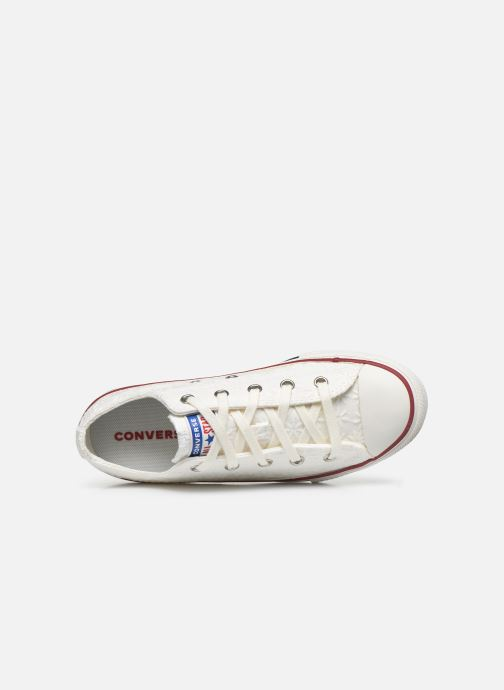 Sneakers Converse Chuck Taylor All Star Little Miss Chuck Ox Hvid se fra venstre