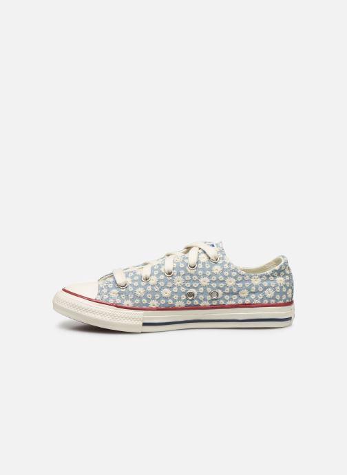 Sneaker Converse Chuck Taylor All Star Little Miss Chuck Ox blau ansicht von vorne