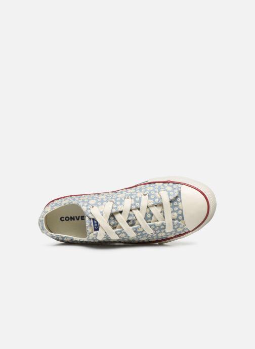 Sneaker Converse Chuck Taylor All Star Little Miss Chuck Ox blau ansicht von links