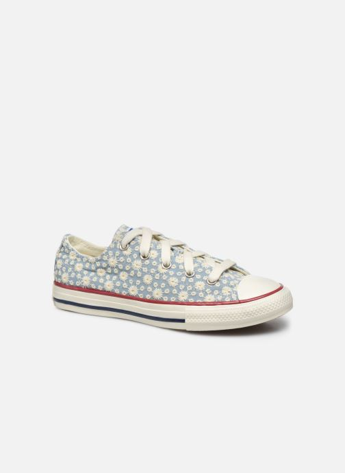 Sneaker Converse Chuck Taylor All Star Little Miss Chuck Ox blau detaillierte ansicht/modell