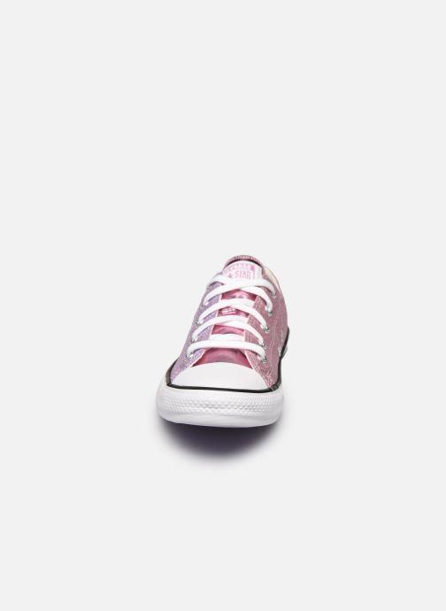 Sneakers Converse Chuck Taylor All Star Metallic Ox Lilla se skoene på