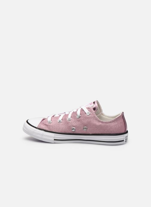 Sneakers Converse Chuck Taylor All Star Metallic Ox Lilla se forfra