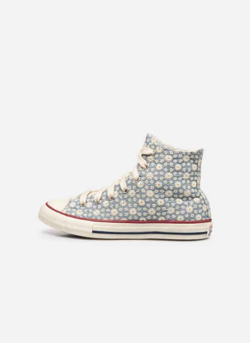 Sneaker Converse Chuck Taylor All Star Little Miss Chuck Hi blau ansicht von vorne