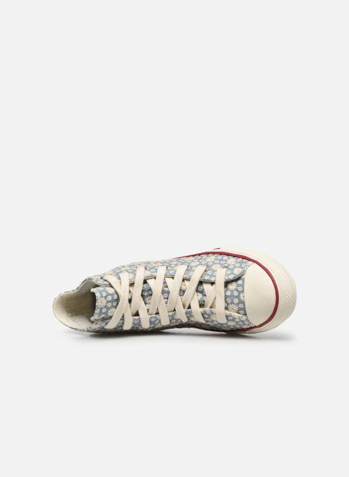 Sneaker Converse Chuck Taylor All Star Little Miss Chuck Hi blau ansicht von links