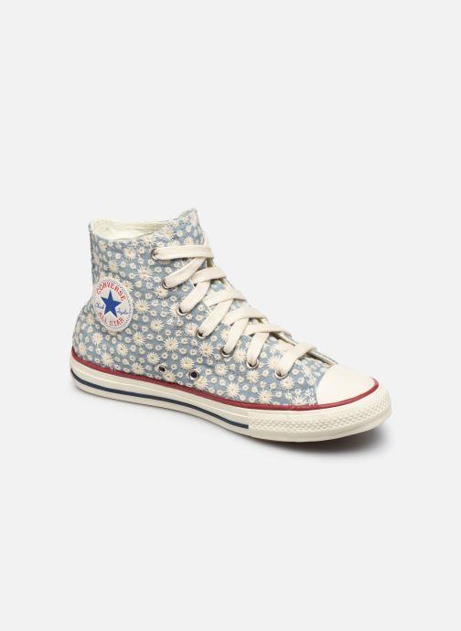Sneaker Converse Chuck Taylor All Star Little Miss Chuck Hi blau detaillierte ansicht/modell