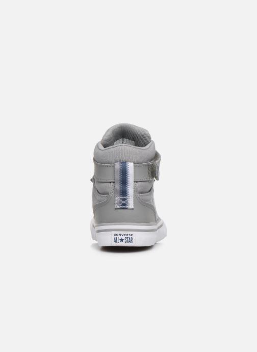 Sneakers Converse Pro Blaze Strap Textile Distort Hi J Grå Se fra højre