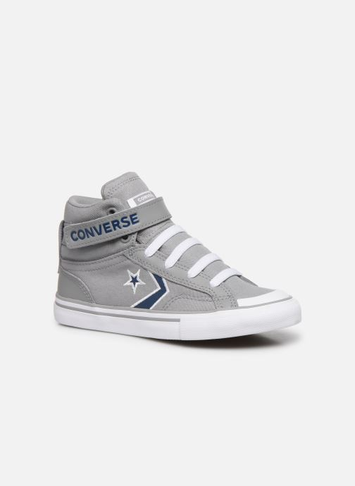 Sneakers Converse Pro Blaze Strap Textile Distort Hi J Grå detaljeret billede af skoene