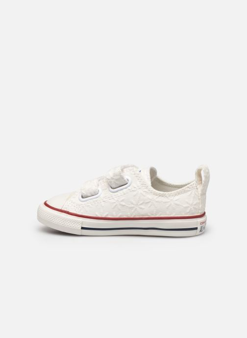 Sneakers Converse Chuck Taylor All Star 2V Little Miss Chuck Ox Hvid se forfra