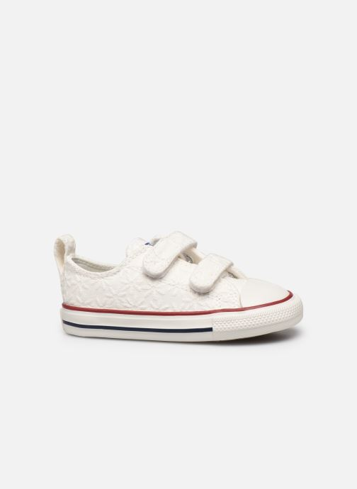 Sneakers Converse Chuck Taylor All Star 2V Little Miss Chuck Ox Hvid se bagfra