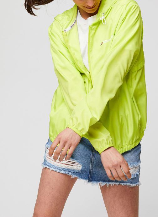 Vêtements Tommy Sport Windbreaker Back Logo W Jaune vue détail/paire