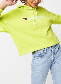 Sweatshirt - Cropped Hoody Logo W
