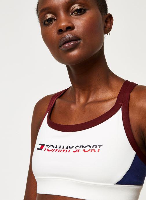 Vêtements Tommy Sport Co/ El Low Support Bra Logo Blanc vue face