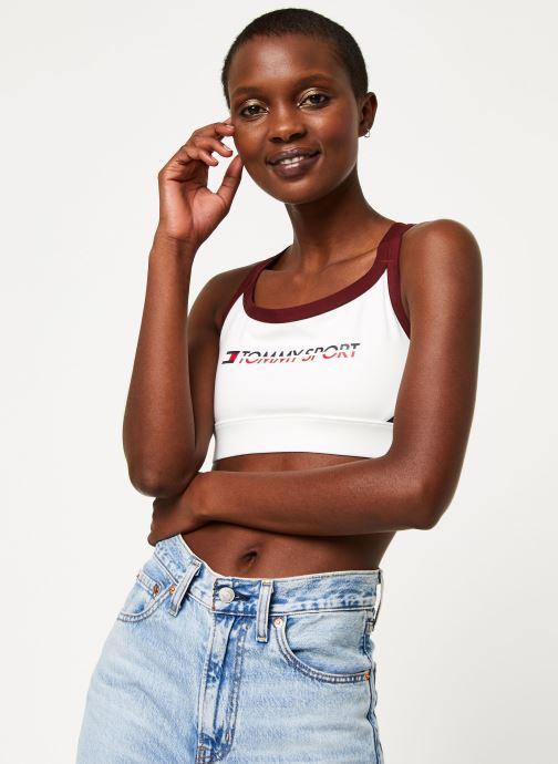 Vêtements Tommy Sport Co/ El Low Support Bra Logo Blanc vue détail/paire