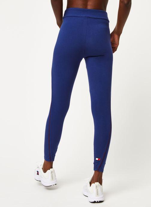 Vêtements Tommy Sport Co/El Legging W Bleu vue portées chaussures