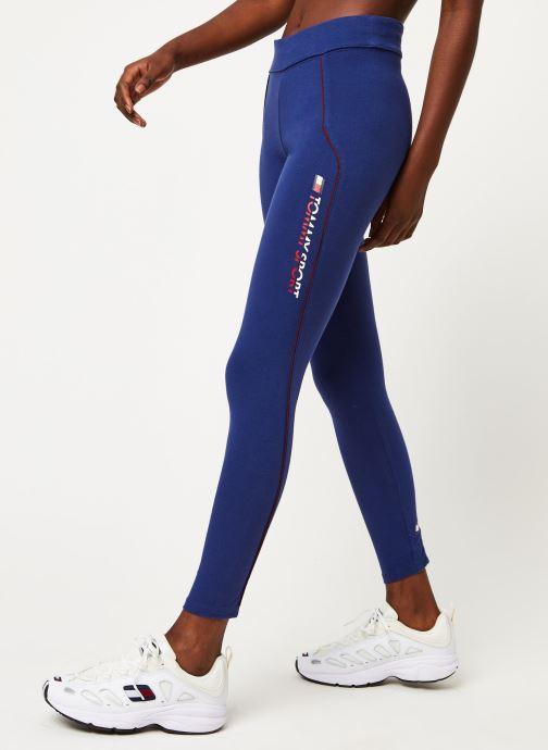 Vêtements Tommy Sport Co/El Legging W Bleu vue détail/paire