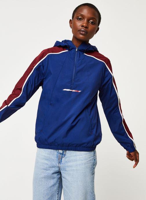 Vêtements Tommy Sport Half Zip Windbreaker W Bleu vue détail/paire