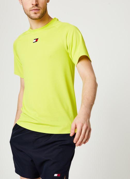 Vêtements Accessoires Training Chest Logo Mesh Top