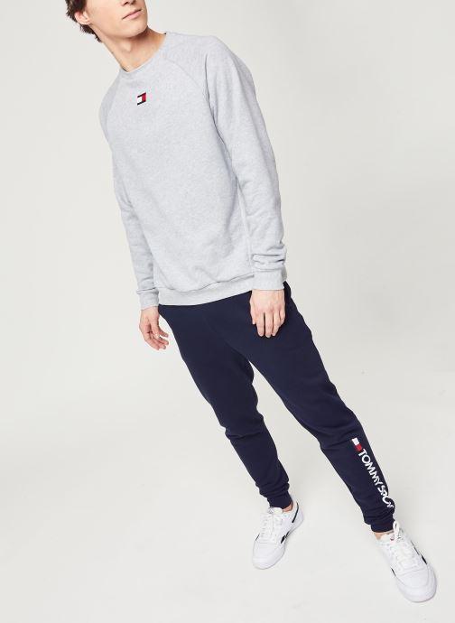 Vêtements Tommy Sport Cuff Fleece Pant Hbr Logo Bleu vue bas / vue portée sac