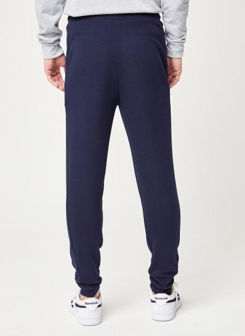 Vêtements Tommy Sport Cuff Fleece Pant Hbr Logo Bleu vue portées chaussures