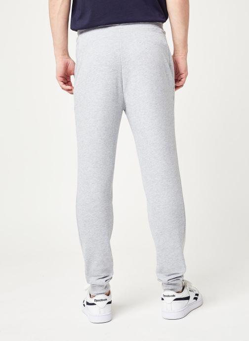 Vêtements Tommy Sport Cuff Fleece Pant Hbr Logo Gris vue portées chaussures